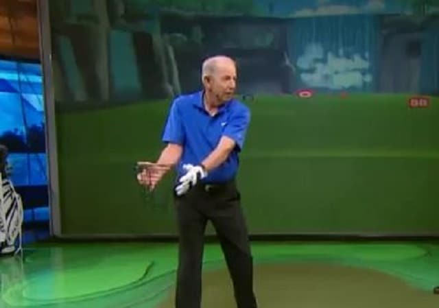 golf swing shoulder turn
