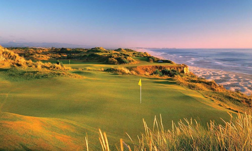 bandon dunes - golf field